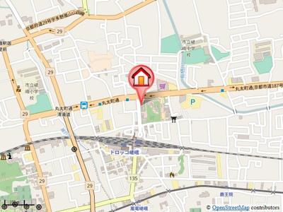 【地図】Forest court(フォレストコート)
