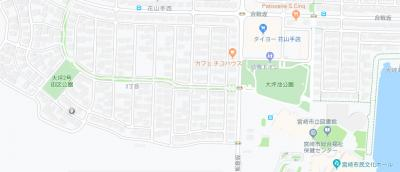 【地図】【土地】花山手西2丁目住宅用地
