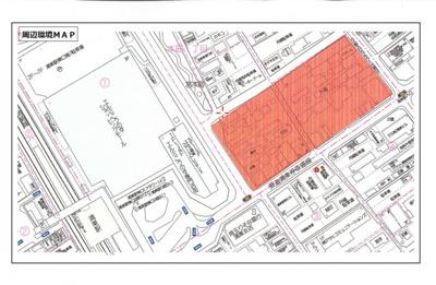【地図】ポレスター鴻巣駅前ガーデンズ(店舗部分)