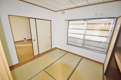 【寝室】久野喜台2丁目貸家