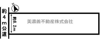 【区画図】54288 岐阜市岩崎土地