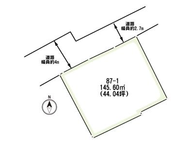 鳥取市立川町一丁目土地