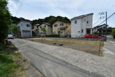 【外観】鎌倉市大町4丁目 角地・建築条件付き売地