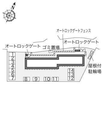 【区画図】サンリーブⅢ