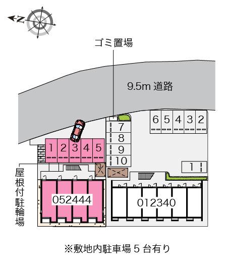 【地図】レオネクスト幸神Ⅱ