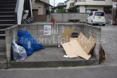 ハウス篠崎6号棟のゴミ置き場☆