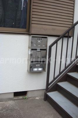 ハウス篠崎6号棟の郵便受け☆