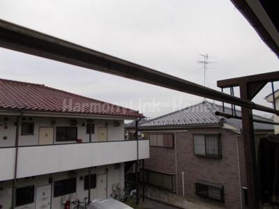 ハウス篠崎6号棟の物干し☆