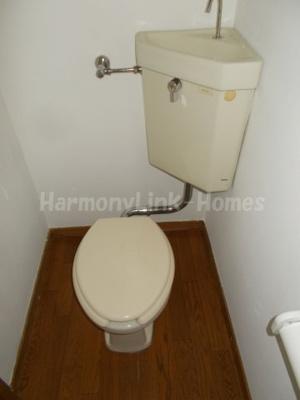 ハウス篠崎6号棟のトイレ☆