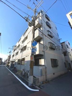 【外観】新深江ツリガミビルパートⅠ 仲介手数料無料