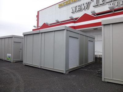 【外観】レンタル収納スペース キューブレンタル日高店