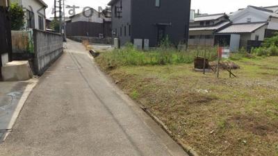 【前面道路含む現地写真】姫路市御立北1丁目/売土地