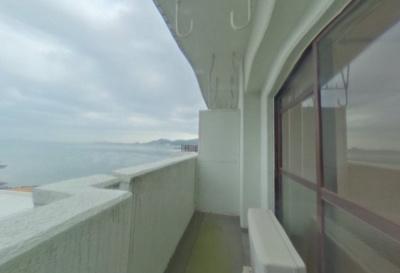 【バルコニー】下関スカイマンション・シー・ビュー満珠