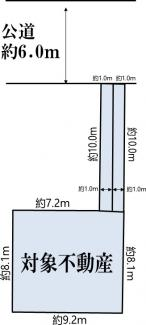 【土地図】横浜市港北区日吉7丁目 売地
