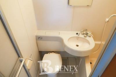 宮本マンションのトイレです