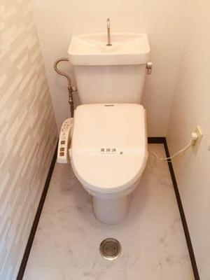 【トイレ】ハッピーハイツ今