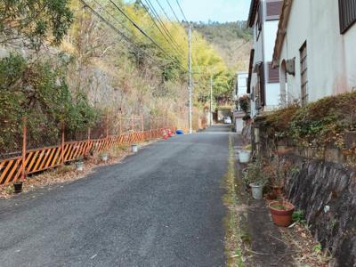 【前面道路含む現地写真】醍醐上山口町
