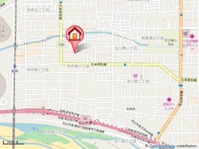 【地図】メゾン・エタニティ・