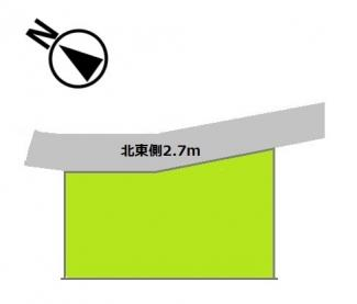 間口が広く、駐車スペースを確保できます。