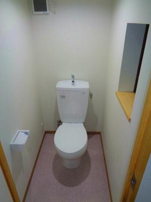 【トイレ】駒川5丁目貸家