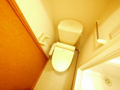 【トイレ】レオパレスフローラ