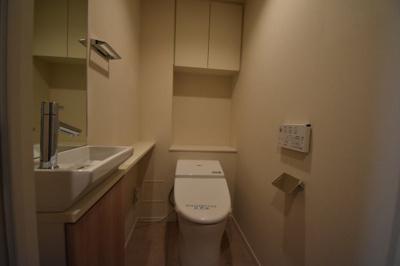 【トイレ】ワンランク上の2LDK タワーマンション パークハビオタワー
