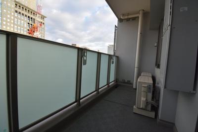 【バルコニー】ワンランク上の2LDK タワーマンション パークハビオタワー