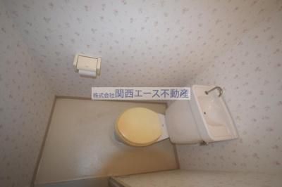 【トイレ】アメニティサントリーニ