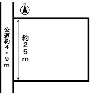 【区画図】54249 羽島郡岐南町三宅土地