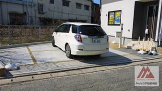 2台分駐車可能です