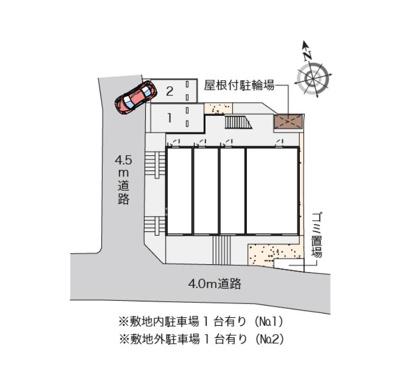 【地図】テラスハウス