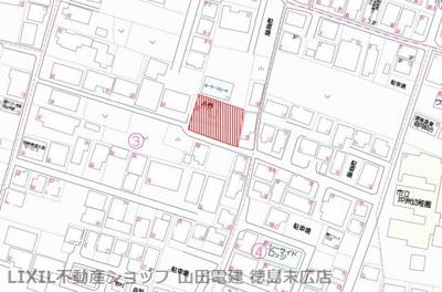 【地図】南沖洲5丁目土地(No.11)