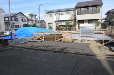建築工事が始まりました。