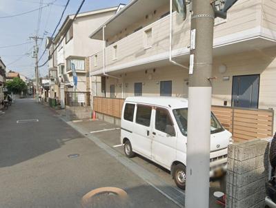 【外観】プラスコート茨木中央駐車場