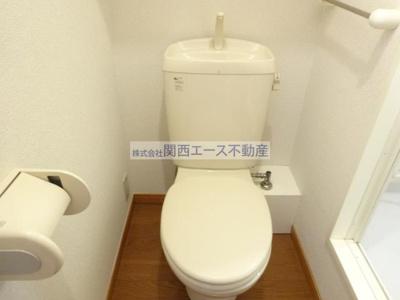 【トイレ】レオパレスエルヴェールⅡ