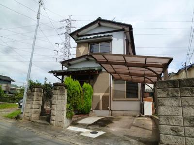 【外観】流山駒木の家