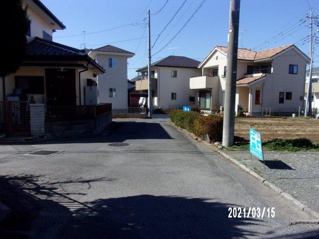 【前面道路含む現地写真】深谷市国済寺 730万 土地