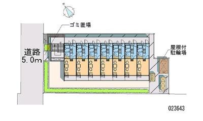 【区画図】ツインスターコートⅠ