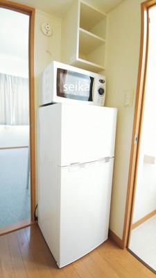 電子レンジ&冷蔵庫