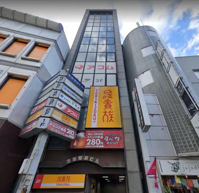 【外観】池田駅前ビル 3F