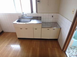 【キッチン】北久米町631-2貸家
