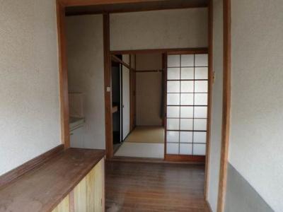 【玄関】北久米町631-2貸家