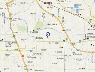 【周辺】北久米1034-3-3山口戸建