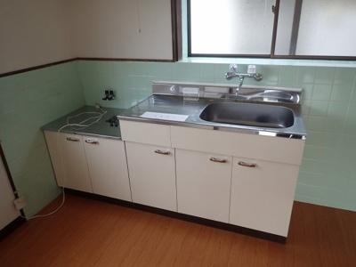 【キッチン】南久米町 片岡(英)借家・