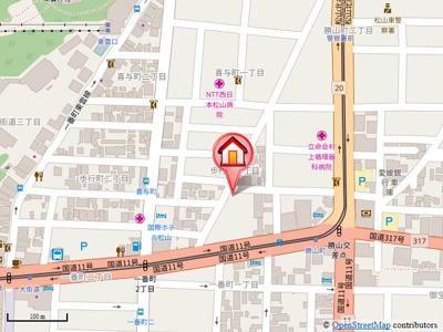 【地図】玉井ビル