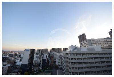 上本町ガーデンハイツ 眺望