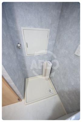 上本町第2ガーデンハイツ 洗濯用防水パン