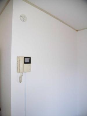 104号室 モニター付きインターフォン