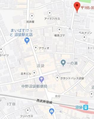 【地図】クレスト―ル エヌビー