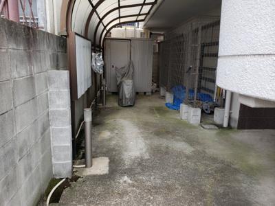 駐輪場☆神戸市垂水区 ハイツ城が山☆
